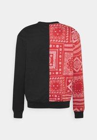 Nominal - SPLIT CREW - Sweatshirt - black - 1