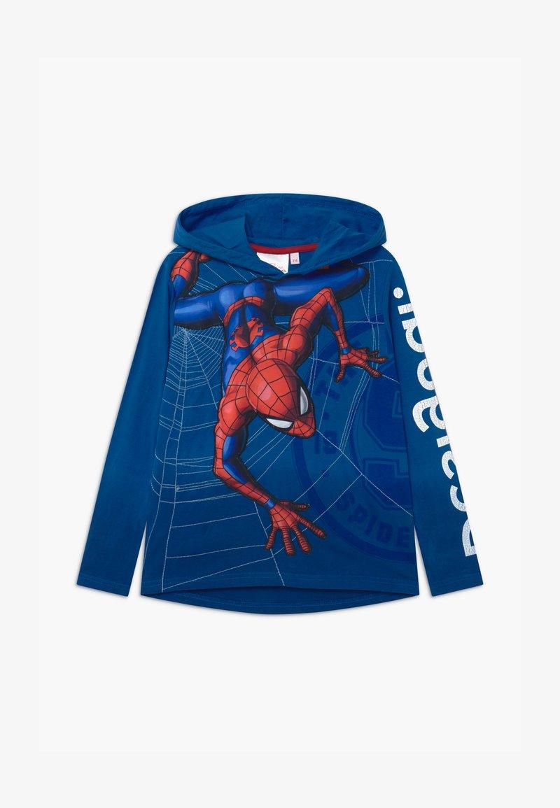 Desigual - MARVEL SPIDER MAN - Hoodie - blue