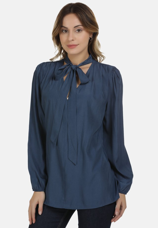 Blouse - denim blue