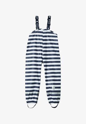 REGENHOSE REGENHOSE - Snow pants - dark blue/white