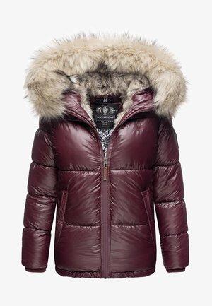 TIKUNAA - Winter jacket - burgundy