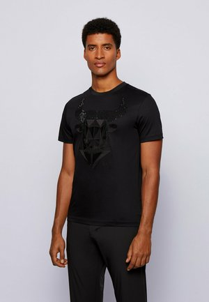 TEEOX  - T-shirt print - black