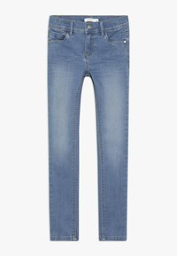 Name it - NKFPOLLY PANT - Jeans Skinny Fit - medium blue denim - 0
