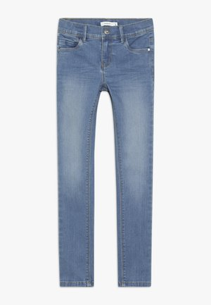 NKFPOLLY PANT - Jeansy Skinny Fit - medium blue denim
