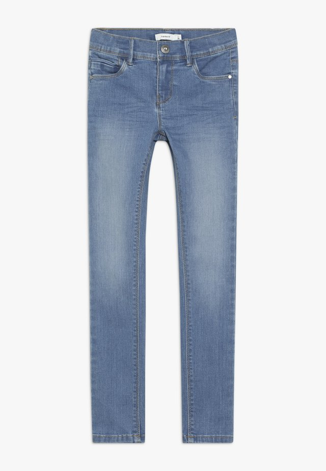 NKFPOLLY PANT - Jeans Skinny Fit - medium blue denim