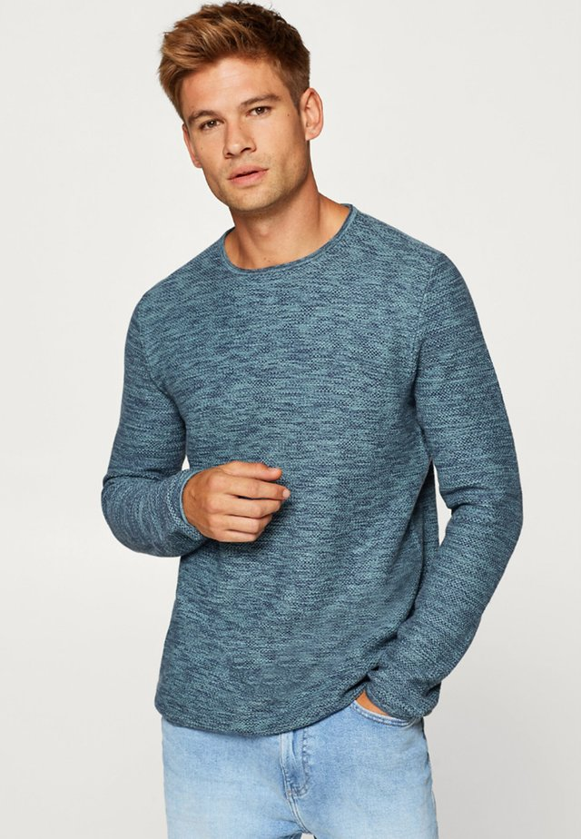 NOOS - Trui - turquoise