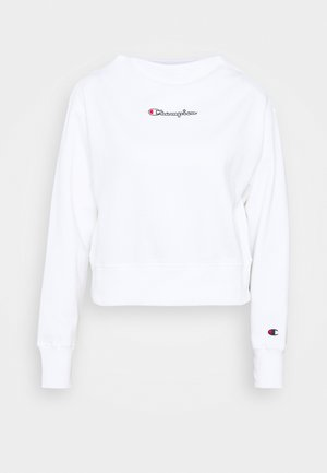 HIGH NECK ROCHESTER - Sweatshirt - white