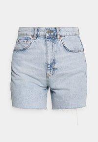 BERMUDA - Shorts vaqueros - blue