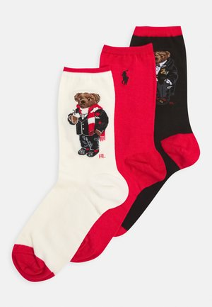 GIFT BOX 3 PACK - Socks - black/red/white
