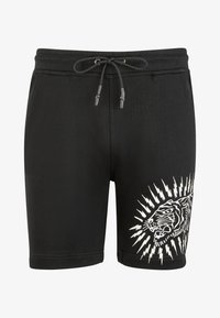 Ed Hardy - TIGER LIGHTNING SHORT - Shorts - black - 0