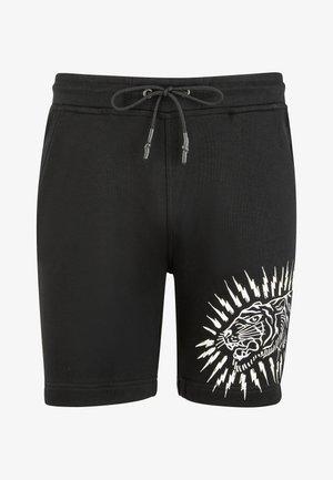 TIGER LIGHTNING SHORT - Shorts - black