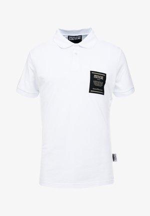 LABEL POLO - Polo shirt - white