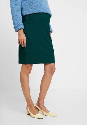 TEXTURED PENCIL SKIRT - Pencil skirt - green
