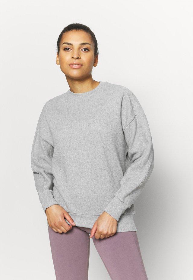ESSENTIALS  - Sweater - mid grey marl