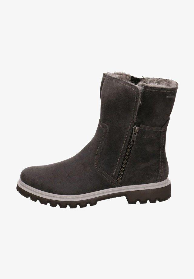 Classic ankle boots - basaltograu
