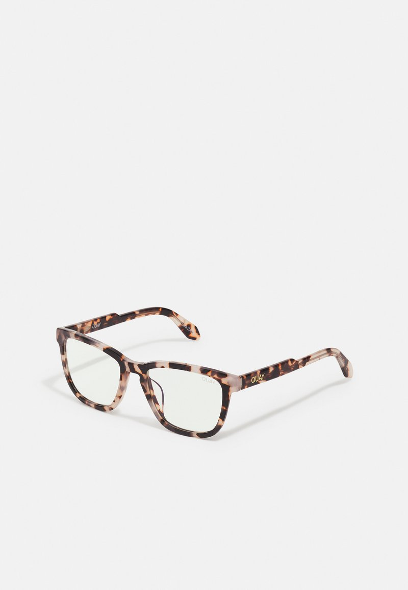 QUAY AUSTRALIA - HARDWIRE BLUE LIGHT - Sunglasses - milky tort/clear