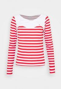 ELLIE - Long sleeved top - red