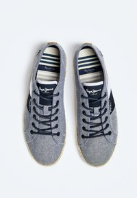 Pepe Jeans - MAUI BLUCHER - Trainers - chambray - 1