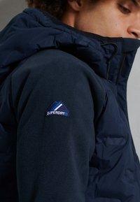 Superdry - ZIP THROUGH - Zip-up hoodie - nautical navy - 3
