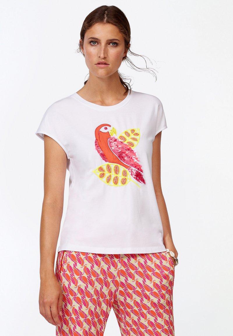 Laurel - Print T-shirt - white