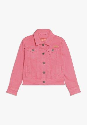 TOSCANE - Kurtka jeansowa - neon pink