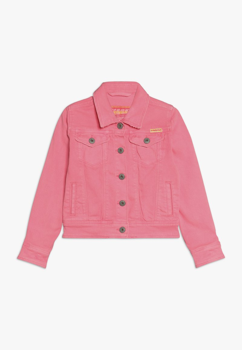 Vingino - TOSCANE - Denim jacket - neon pink