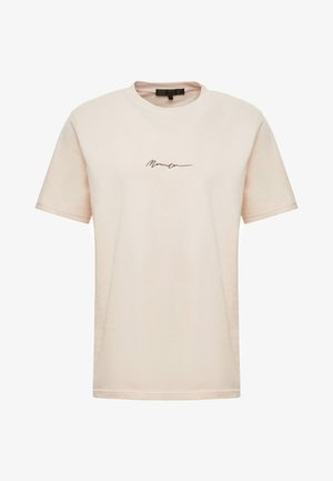 ESSENTIAL SIG UNISEX - T-shirt basic - beige