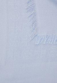 Tory Burch - LOGO LIGHTWEIGHT TRAVELER - Šátek - crisp blue - 3