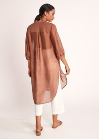 comma - Button-down blouse - burnt sienna - 1