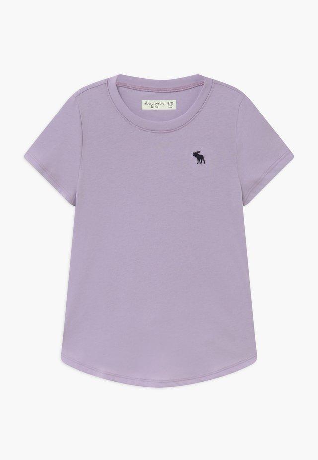 CURVED - T-shirt - bas - purple
