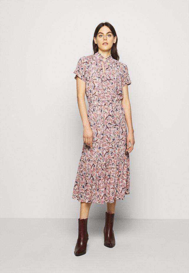 DRAPEY DRESS - Maxi šaty - pink multi