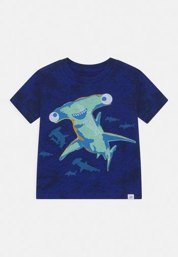 TODDLER BOY BETTER GRAPHIC - Print T-shirt - navy