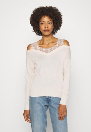 ORIELLA V-NECK - Jumper - pink powder