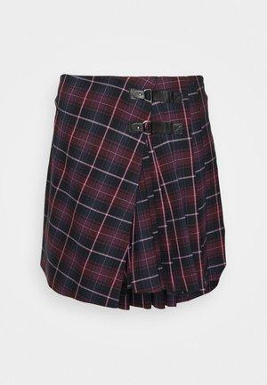 JORISA - Mini skirt - bordeaux