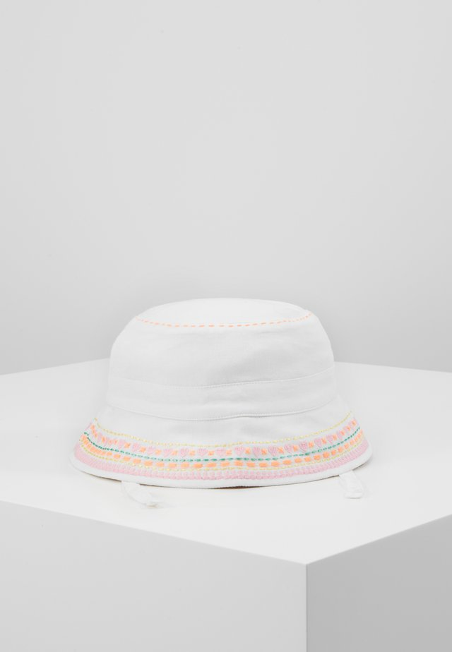 GIRLS WHITE SUN HAT - Sombrero - white