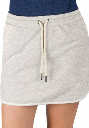RAKEL  - Mini skirt - lt heather grey