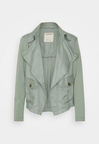 Summer jacket - turquoise