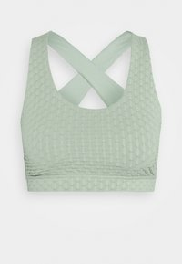 Cotton On Body - WORKOUT CUT OUT CROP - Sujetador deportivo - mint chip texture - 0