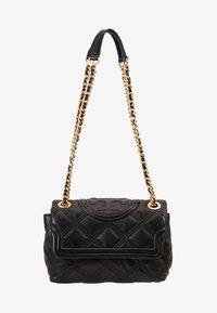 Tory Burch - FLEMING SOFT SMALL CONVERTIBLE SHOULDER BAG - Handbag - black - 5