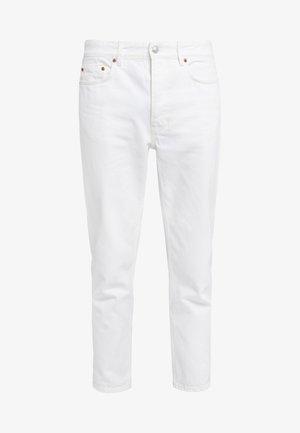 BEN - Straight leg jeans - tinted white distressed