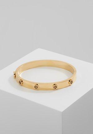 LOGO STUD HINGE BRACELET - Bracelet - gold-coloured