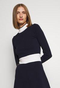 HUGO - SUMERY - Obleka/pulover - navy - 4