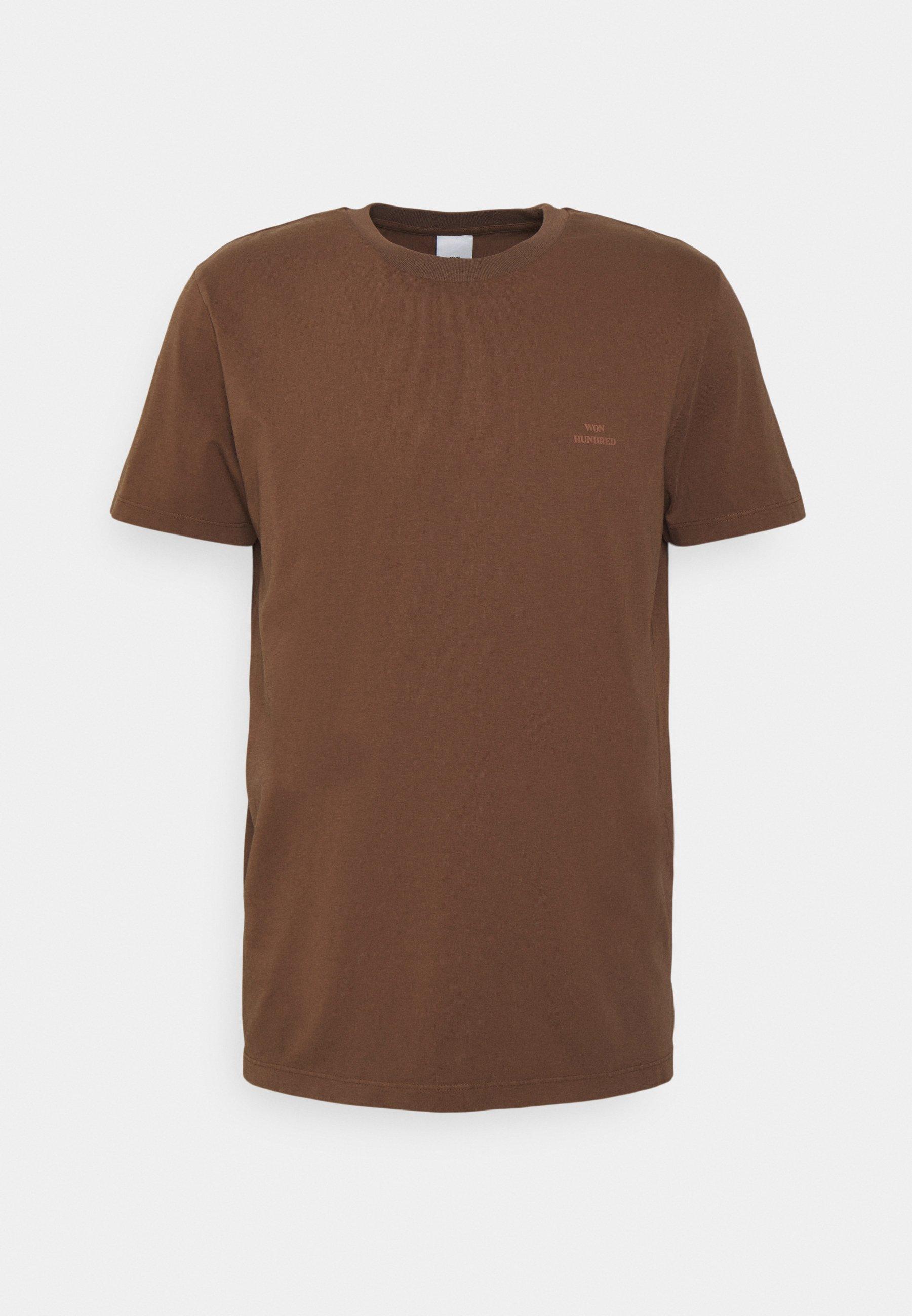 Homme TROY RUBBER - T-shirt basique