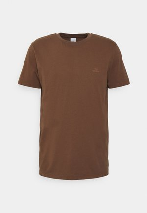 TROY RUBBER - T-shirt basic - toffee