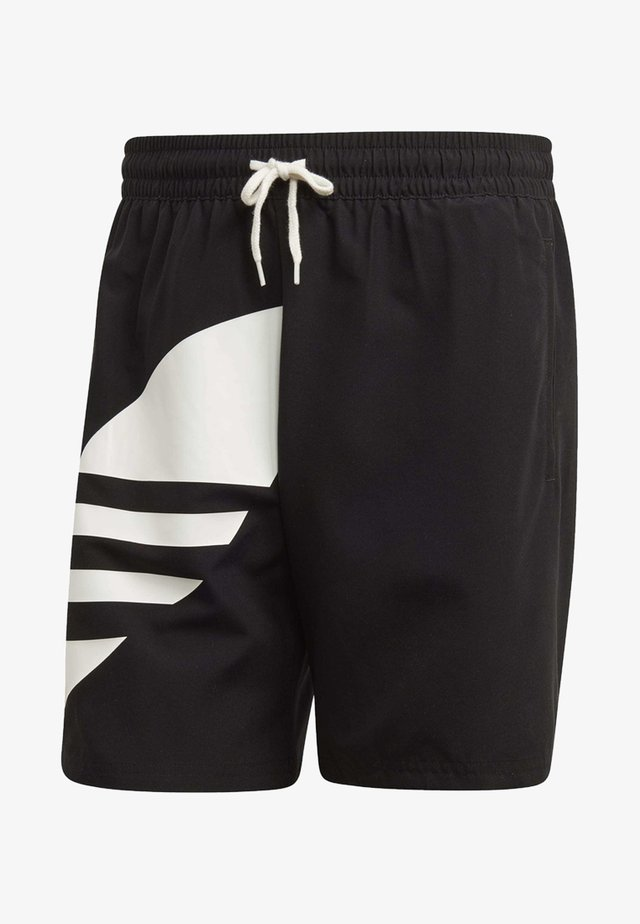 BIG TREFOIL SWIM SHORTS - Badeshorts - black