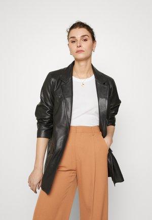 BROOKE  - Leren jas - black