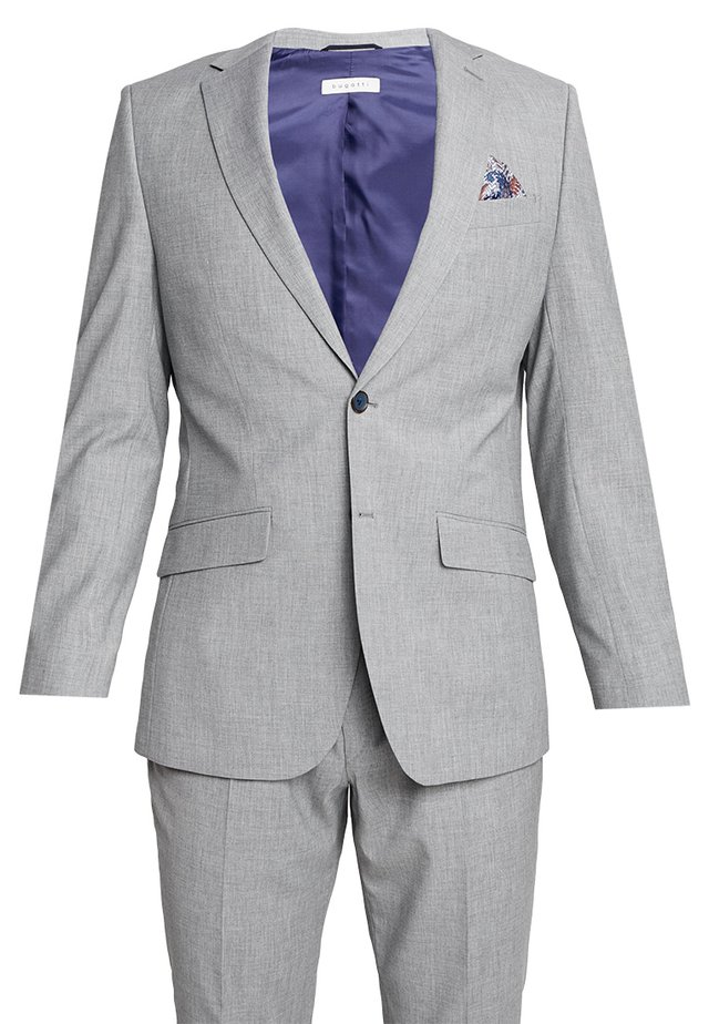 SUIT REGULAR FIT - Traje - light grey