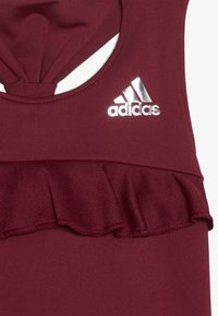 adidas Performance - RIBBON TANK - Koszulka sportowa - bordeaux - 3