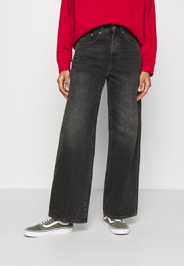 ONLHOPE LIFE - Bootcut jeans - black denim