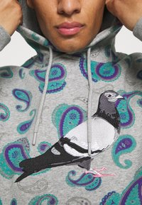 STAPLE PIGEON - LOGO HOODIE UNISEX - Sweatshirt - teal - 5